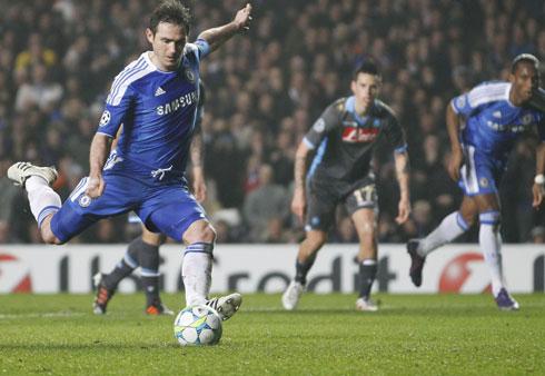 Frank Lampard, Chelsea - Napoli