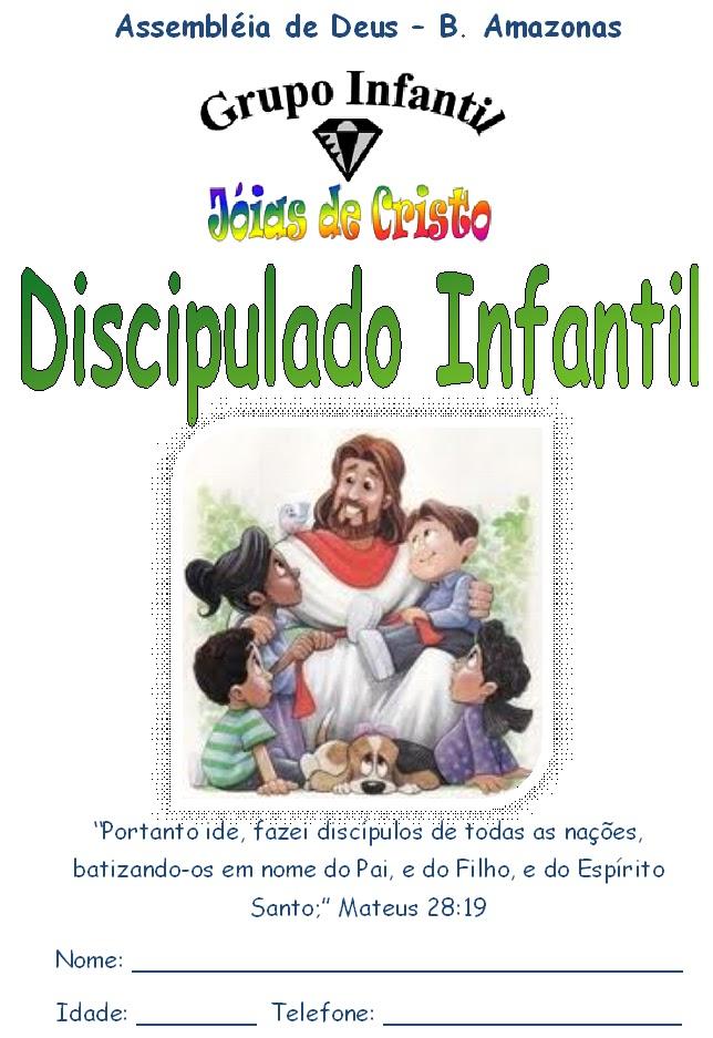 Educadores Cristaos Apostila De Discipulado Infantil