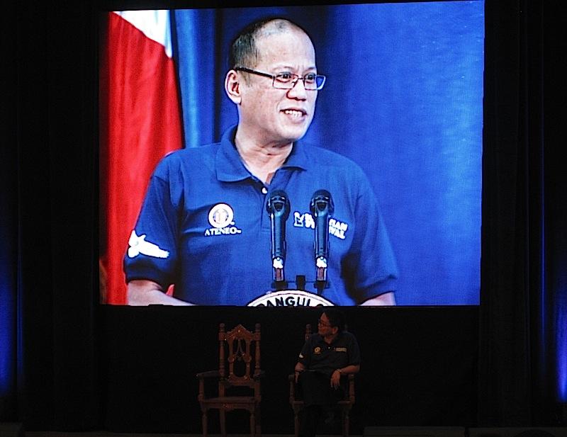 President Aquino at the 2013 Ignatian Festival