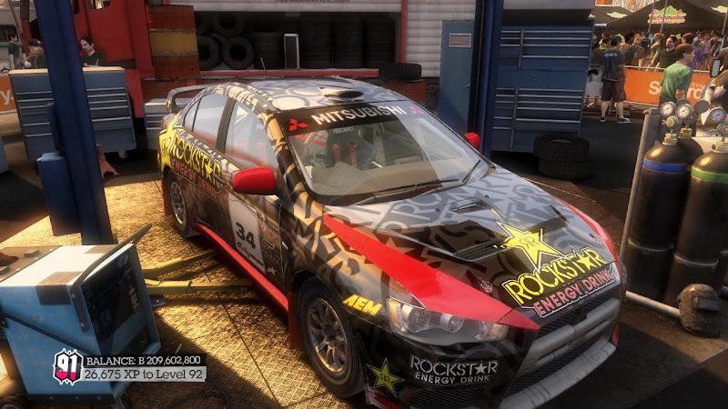 รายการรถกลุ่ม Rally ใน DiRT2 Mer-06
