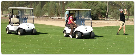 Golf at the 2013 ITRP CAB