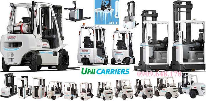 New name for Nissan Forklift: Unicarriers