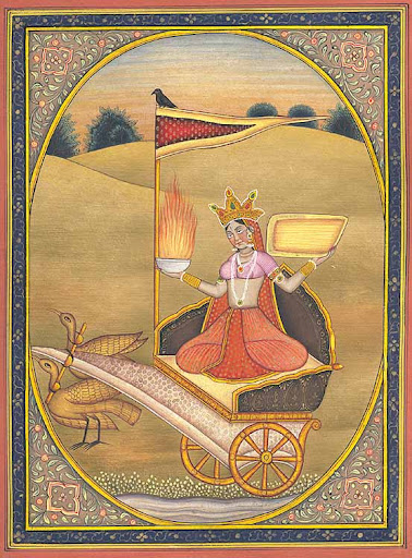 Goddess Dhumavati Image