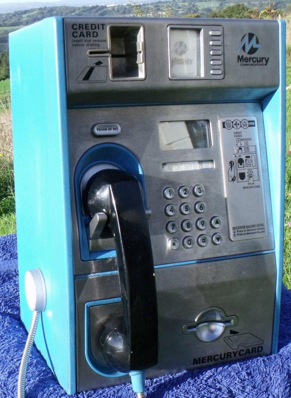 mercury card phone - Payphone Calling Cards