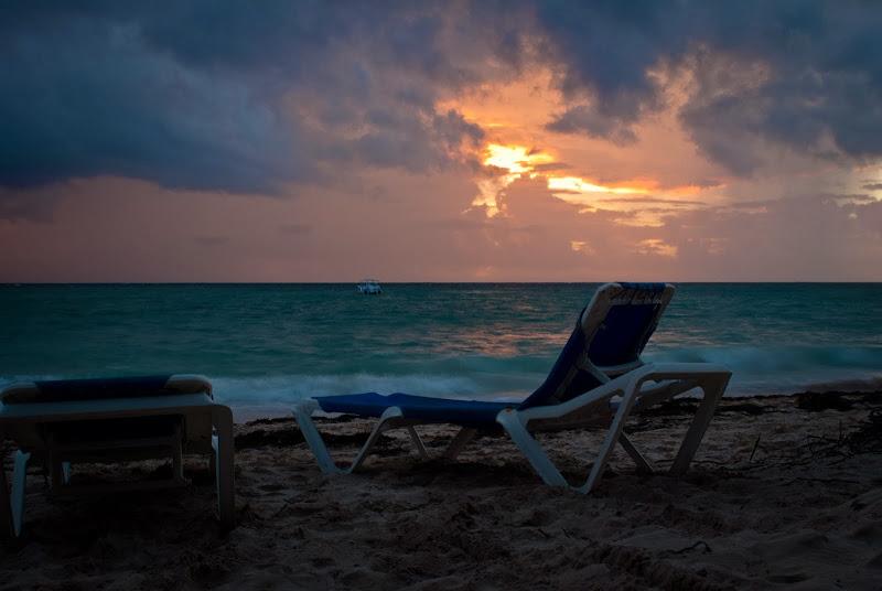 Dominikana -- wschód słońca..