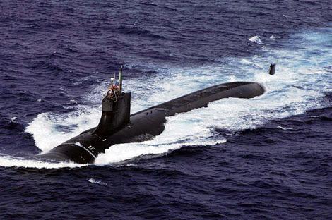 Tàu ngầm hạt nhân tấn công USS Connecticut (SSN-22) thuộc lớp Seawolf.