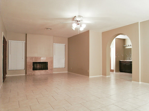 Master bedroom suite in this Sun Lakes AZ Homes for Sale