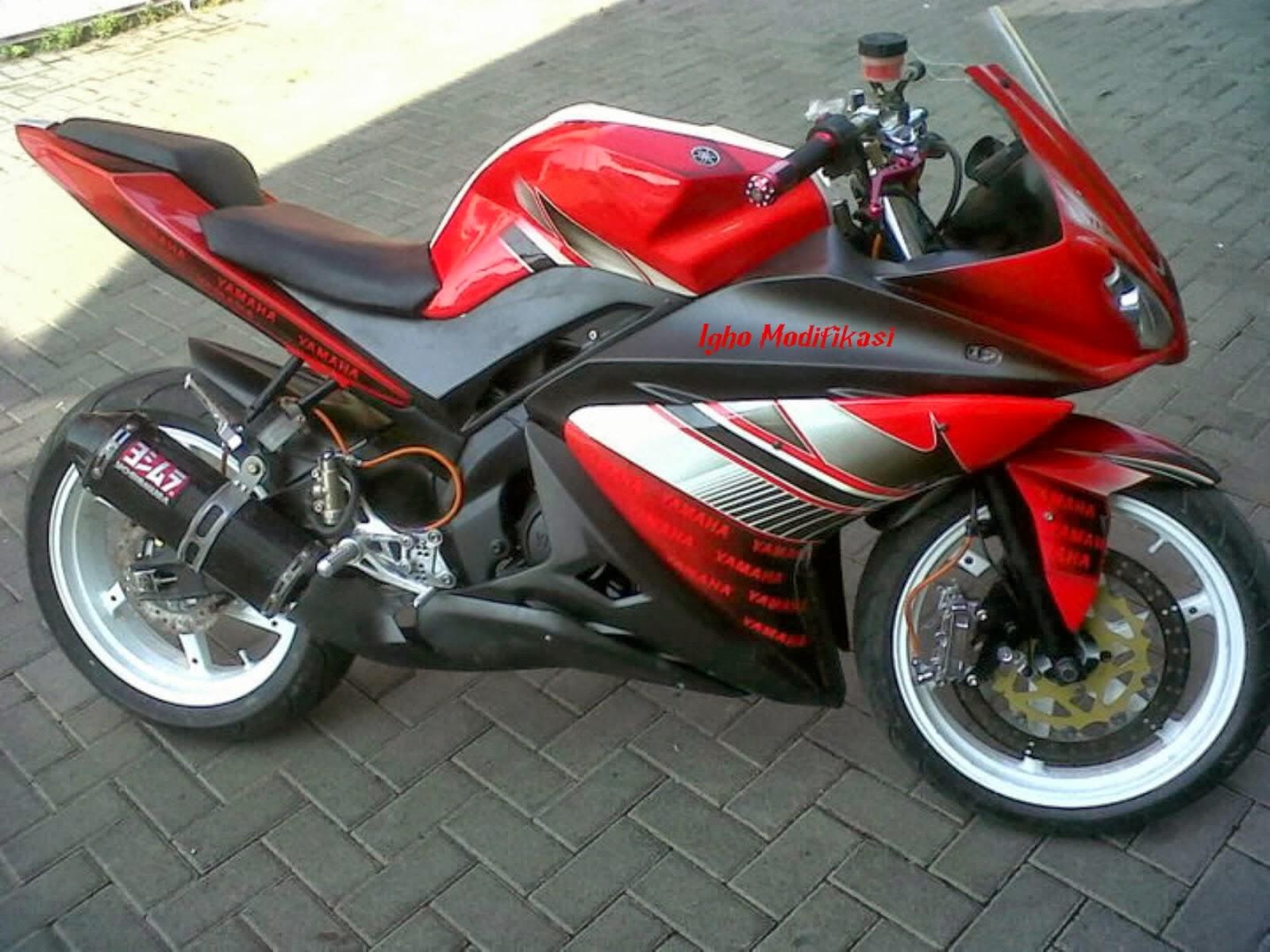 Modif Yamaha New Vixion