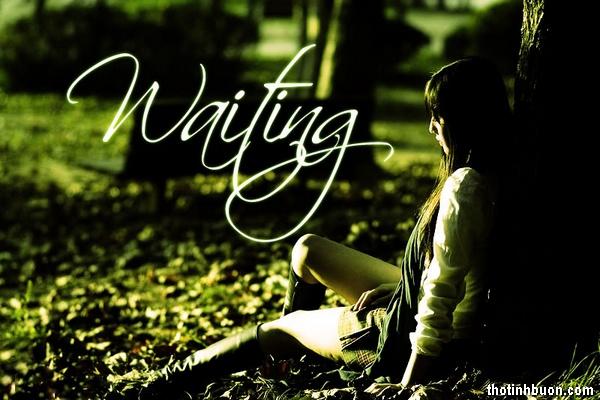 thơ tâm trạng nói về sự chờ đợi trong tình yêu