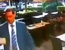 كاميرا مطعم توثق لحظة انفجار بيروت