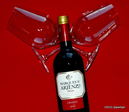 Vino tinto Marqués de Arienzo crianza 2007