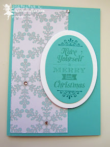 stampin up, weihnachten, merry little christmas, eiszauber, winter frost, case a christmas card