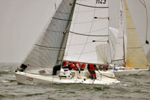 J/80 international one-design sailboat- sailing Italian National Championships