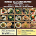 Promotion: Sunday Ala Carte Japanese Buffet at Zakuro Two