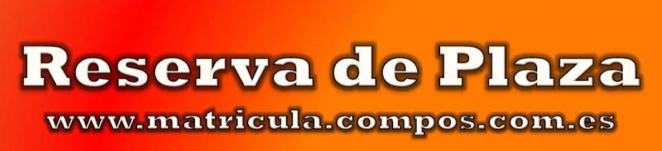 1 RESERVA DE PLAZA www.matricula.compos.com.es