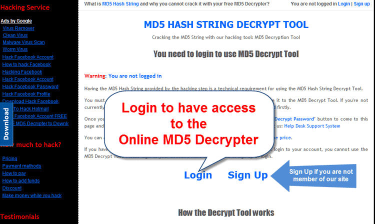 Md5 Online