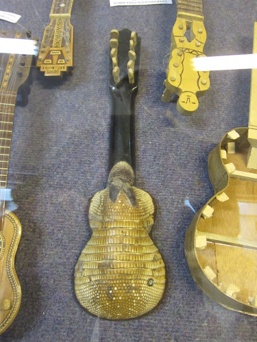 In the Bolivian musical instrument museum I found this beauty for Mike.