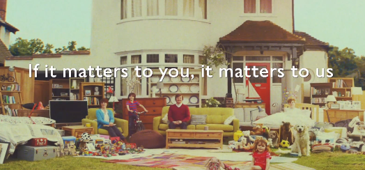 John Lewis Home Insurance Advert 2013 — Things Matter