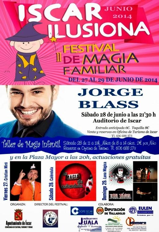 Festival de Magia Familiar Íscar 2014