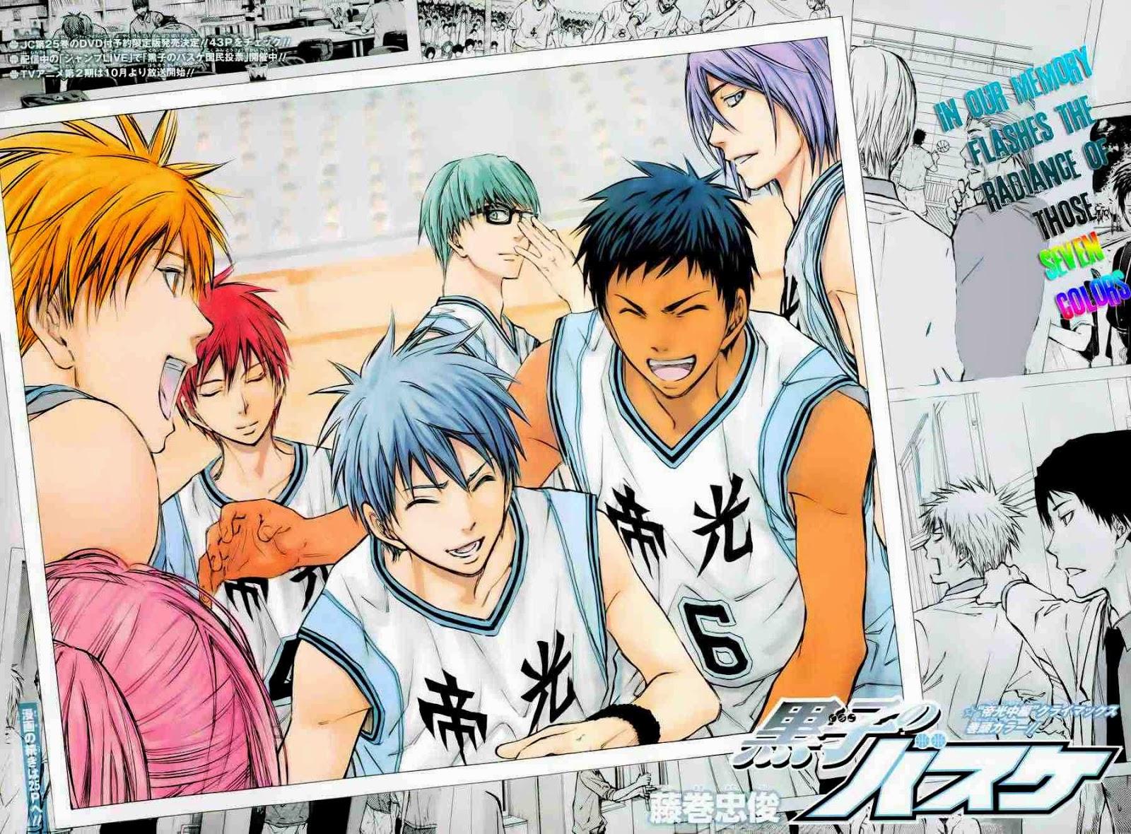 Kuroko no Basket Manga Chapter 226 - Image 01-02