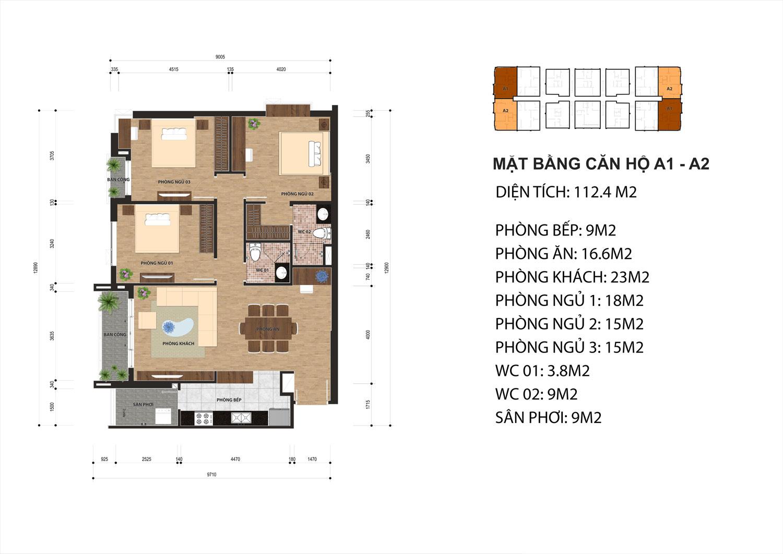 Mở bán đợt 2, 50 căn hộ Chung cư One18 có chủ