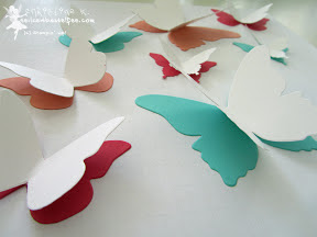 stampin up schmetterlinge butterflies incolors