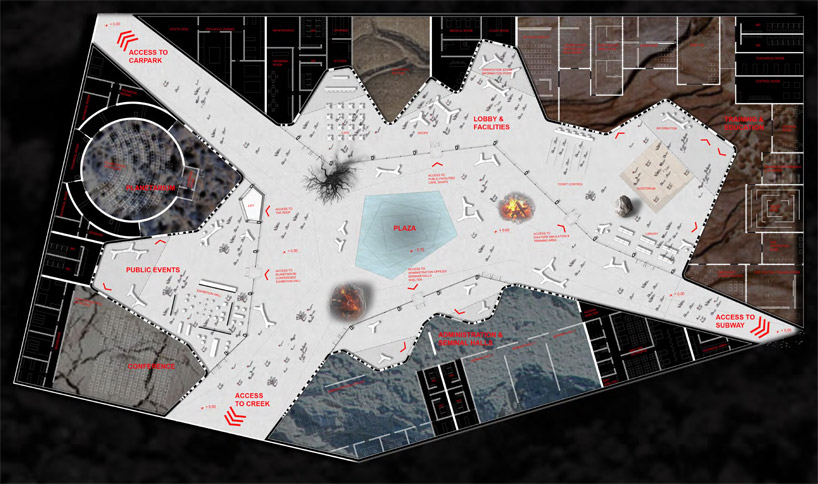 Istanbul disaster prevention + education centre design by group8