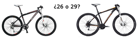 26 o 29 pulgadas ¿qué elijo?