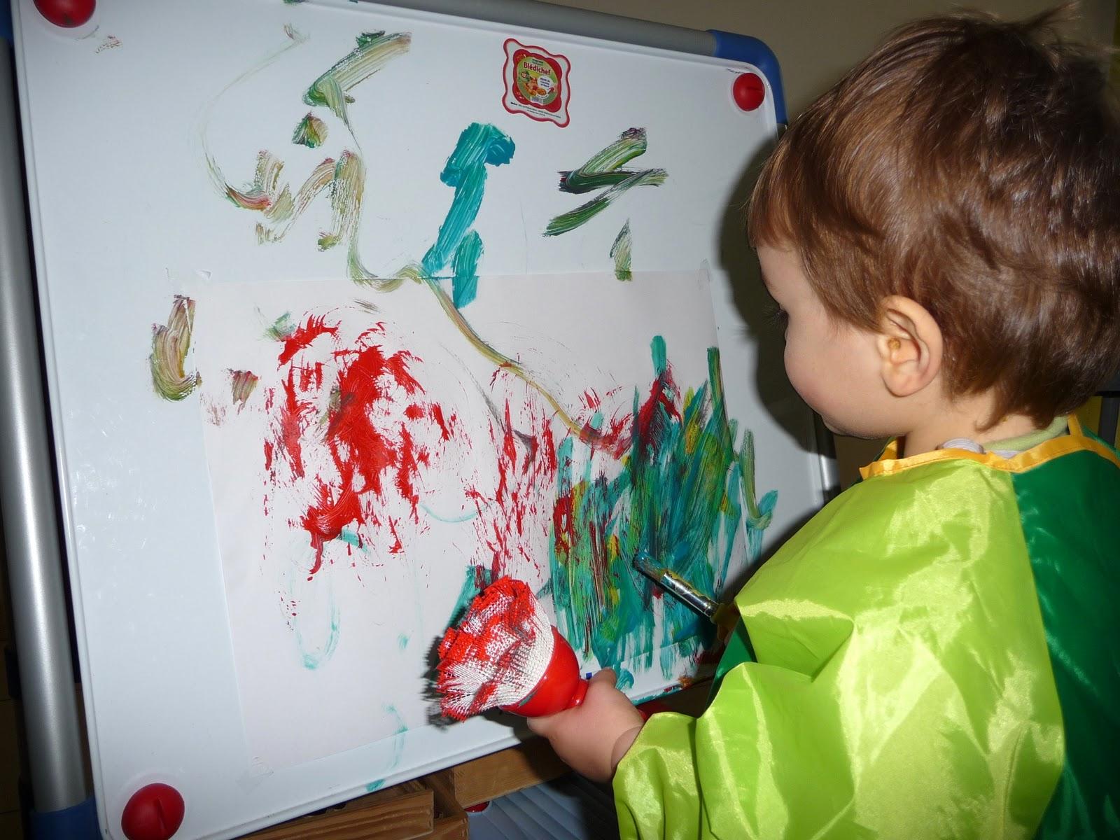 Chez fant mette atelier peinture - Mon ado ne veut rien faire ...