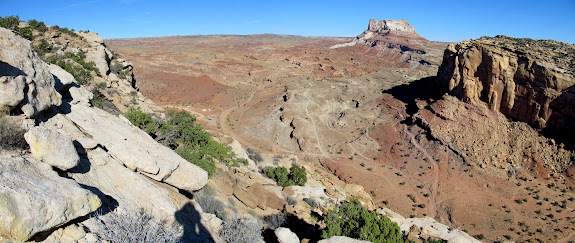 South Temple Wash and Temple Mountain
