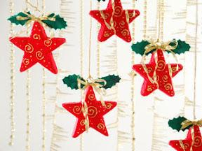 estrellas navideas para decorar nuestra casa o el erbol navideo
