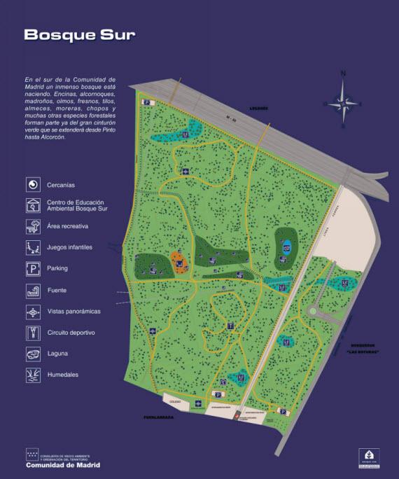 Conservación de los 136.000 árboles y 296.000 arbustos de Bosquesur