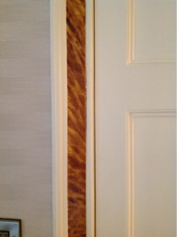 Faux Tortoishell, painted tortoiseshell, faux finish