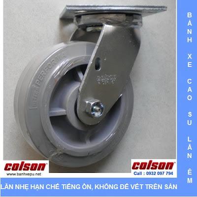 Colson tự hào là nhà sản xuất tiên phong  bánh xe cao su Performa ( Bánh xe cao su nhân tạo hay bánh xe cao su tổng hợp ) từ những năm đầu của thập niên 90 của thế kỷ XX. Loại bánh xe đẩy mới này do kết hợp được các ưu điểm của cả hai loại vỏ bánh xe cứng chắc và mềm dẻo, đã phá vỡ các nguyên tắc thiết kế bánh xe đẩy thông thường.