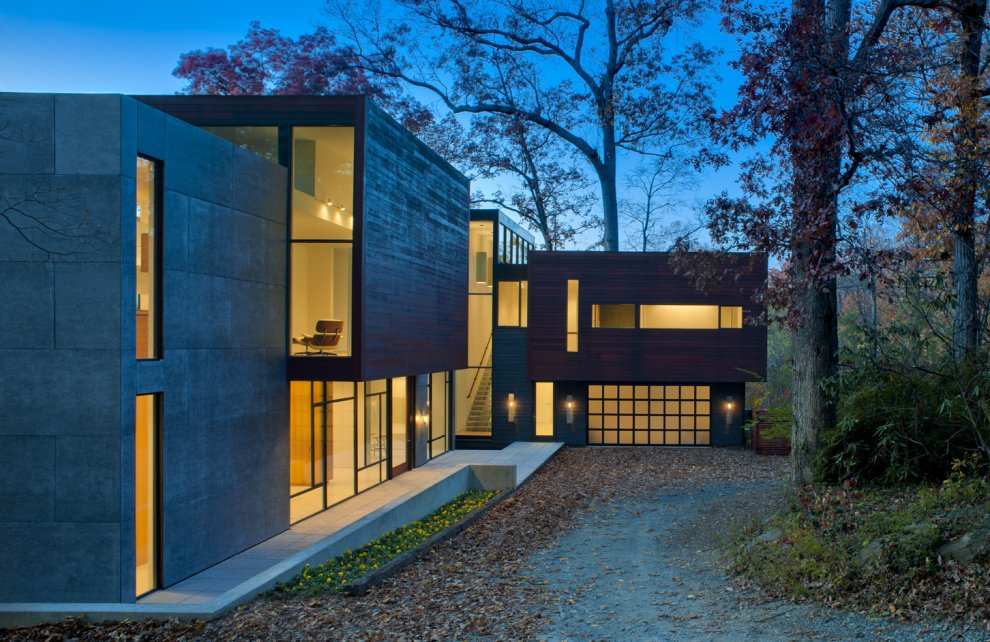 Wissioming2 House design by Robert M. Gurney Architect