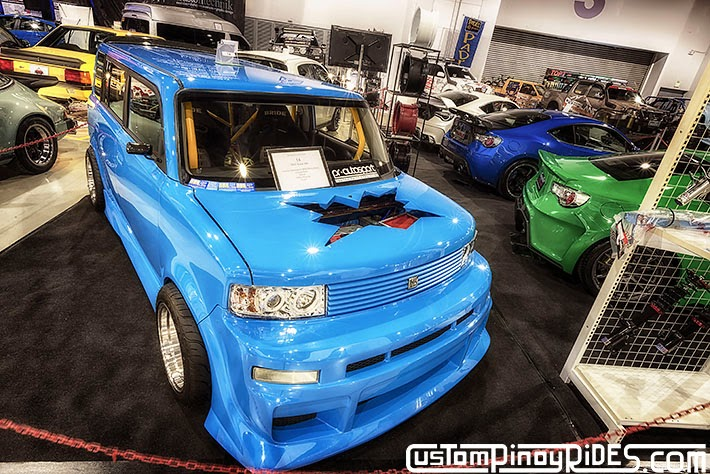 Chopped and Caged Honda K20-Powered Toyota bB Manila Auto Salon Car Photography Philippines Custom Pinoy Rides Philip Aragones pic1