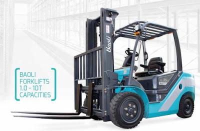 Xe nâng Baoli 2.5 - 3 tấn
