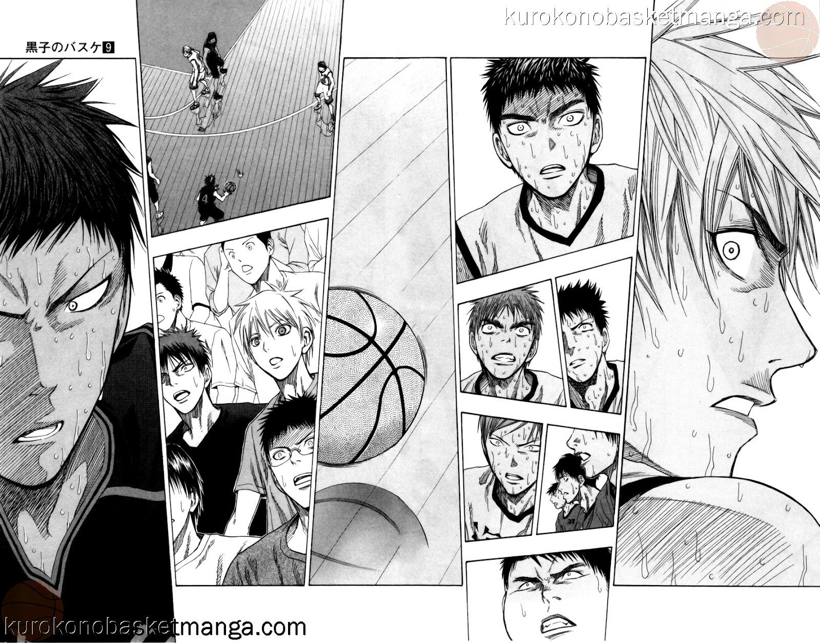 Kuroko no Basket Manga Chapter 72 - Image 10-11