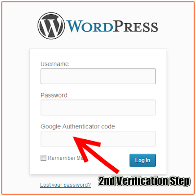 Login Protected with Google Authenticator for WordPress