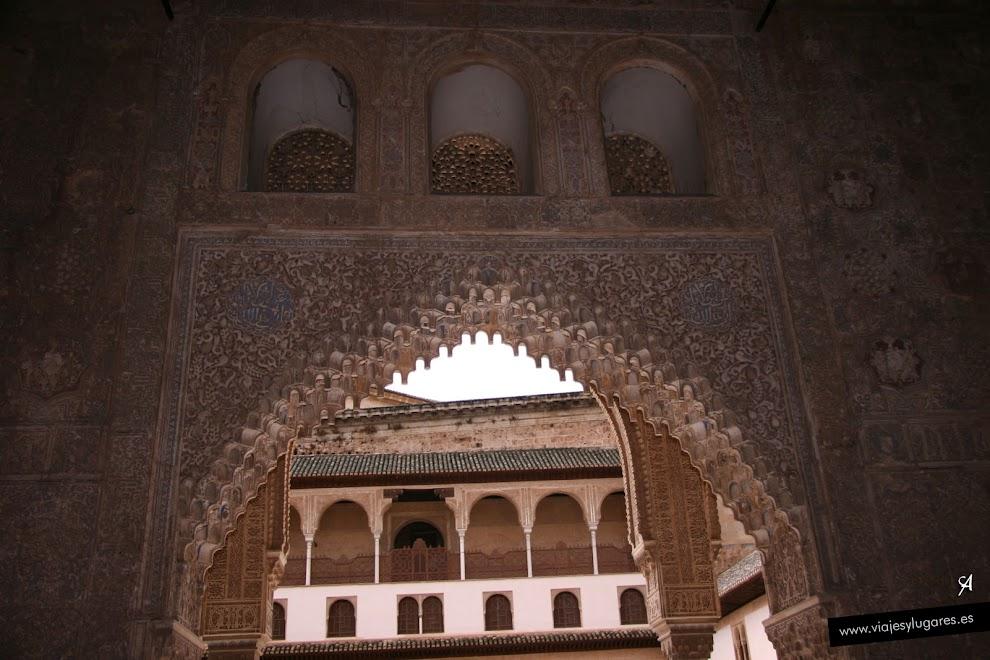 Sal n de los embajadores palacio de comares palacios - Banos arabes palacio de comares ...