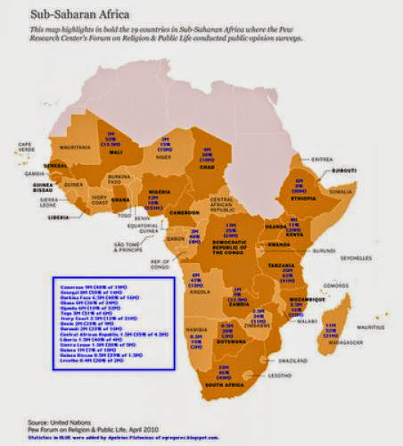 200 Million African Pagans