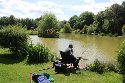 Camping  at Springwood Fisheries Ashby Road