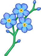 The Official flufffriends Blog New Decoration Released Forget Me Nots