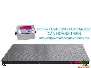 cân sàn điện tử ohaus T23P 2 tấn