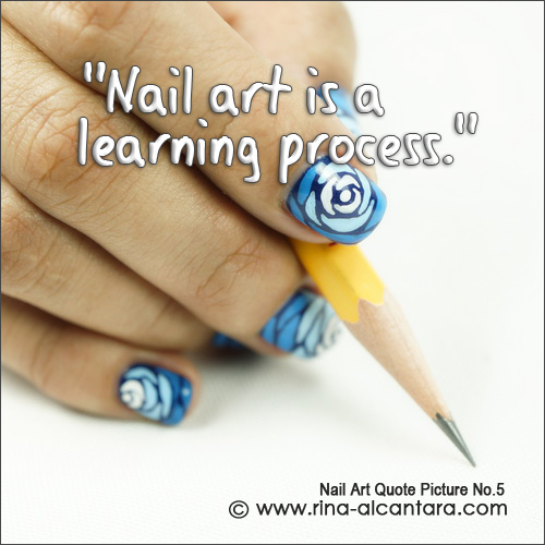 Nail Art Quote Picture No.5