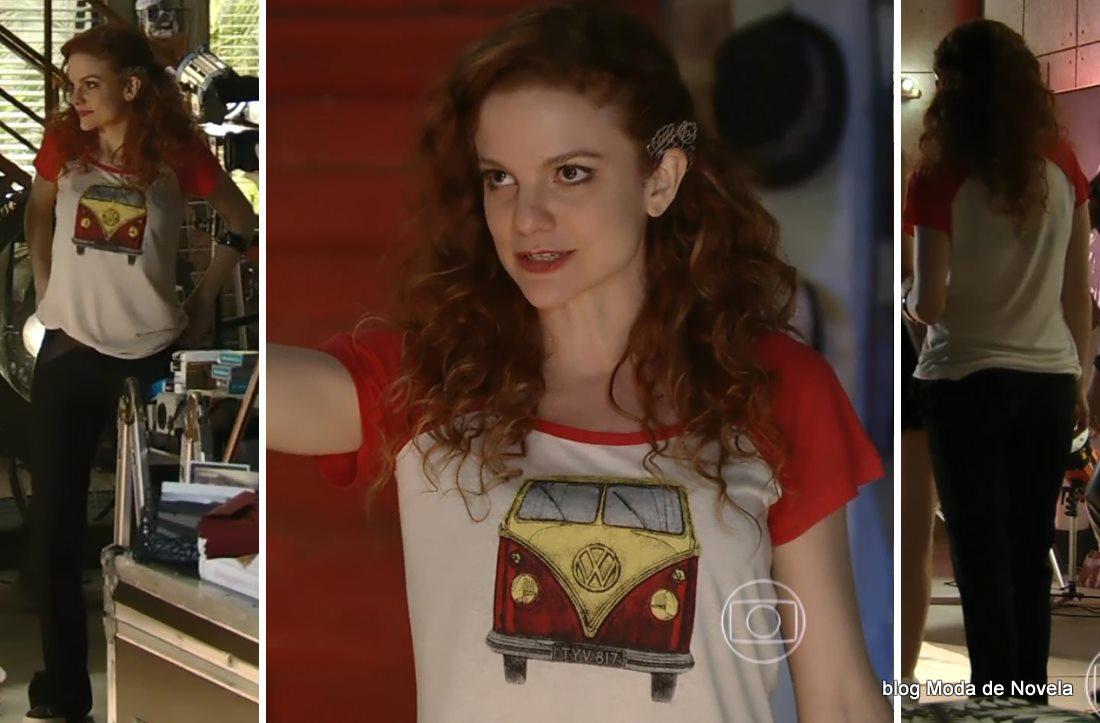 moda da novela Em Família - look da Vanessa dia 10 de maio