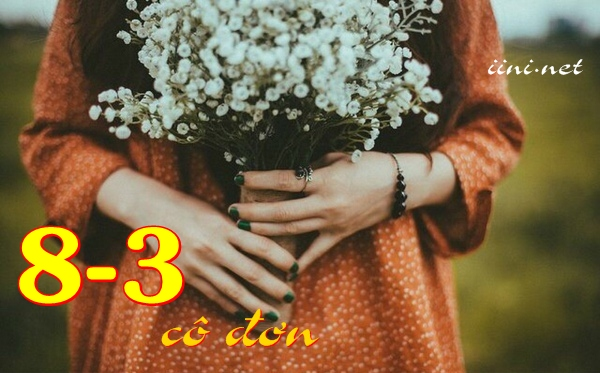 thơ 8-3 cô đơn