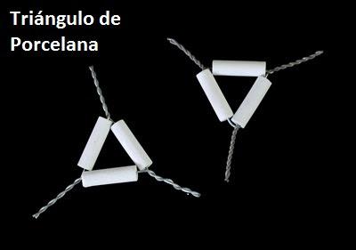 Triángulo de porcelana