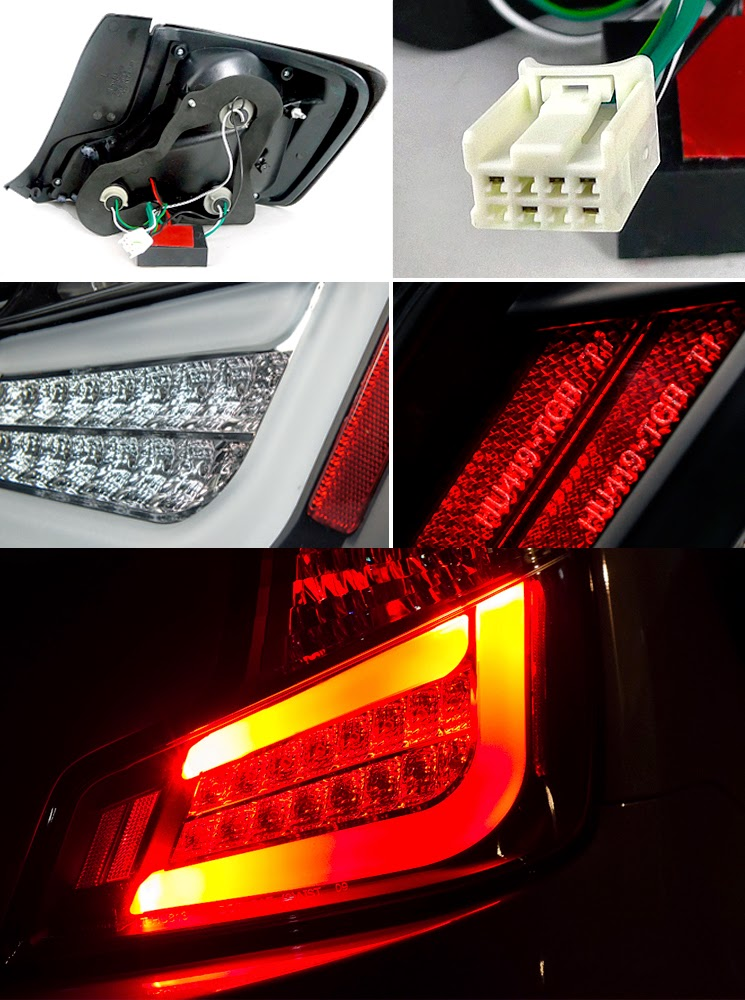 2011 2013 scion tc euro style led tail lights smoked. Black Bedroom Furniture Sets. Home Design Ideas