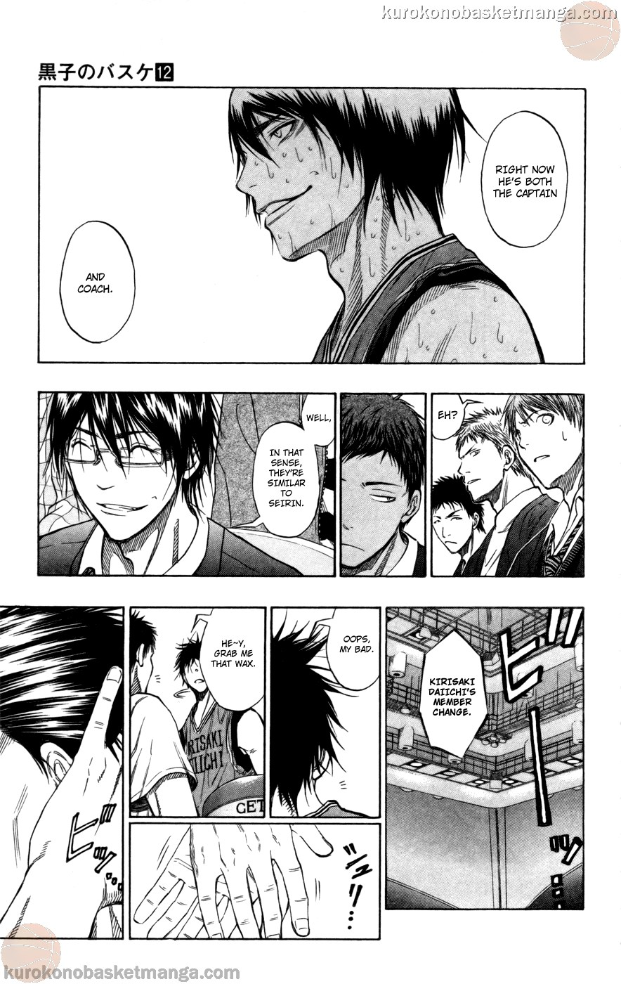 Kuroko no Basket Manga Chapter 104 - Image 05